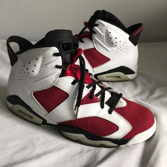 100% authentic 65c1d 5a99c Men s Nike Air Jordan 6 Retro Carmine. M 5b1eb7c41b3294b0bb9835ad